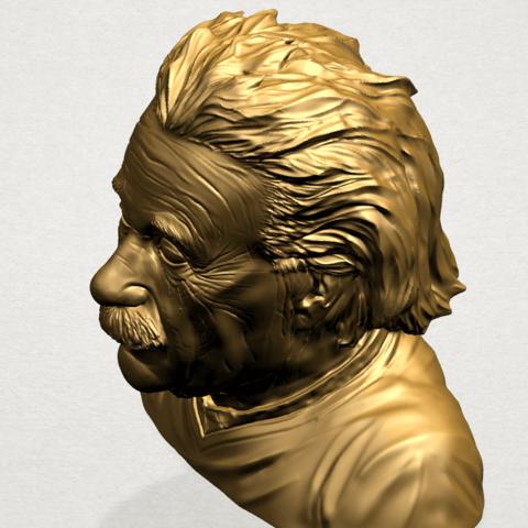 Einstein B03.png Télécharger fichier STL gratuit Einstein • Objet à imprimer en 3D, GeorgesNikkei