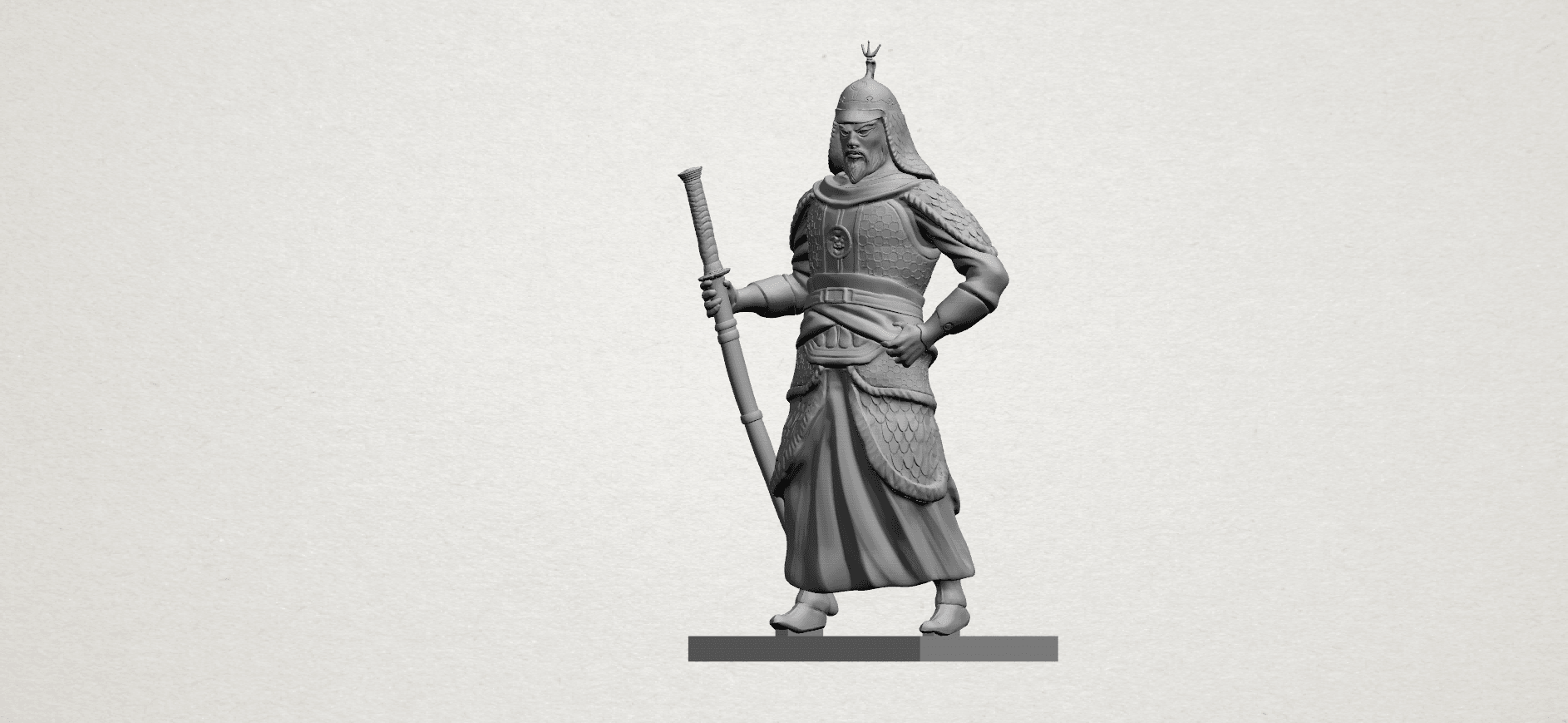 Age of Empire - warrior -A02.png Download free STL file Age of Empire - warrio • 3D print design, GeorgesNikkei