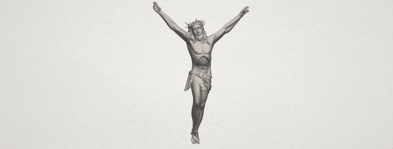 TDA0230 Jesus (ii) A00.png Download free STL file Jesus 02 • 3D printing template, GeorgesNikkei
