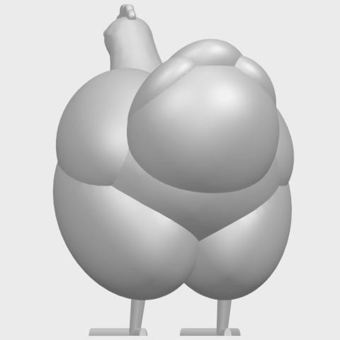 17_TDA0484_HenA06.png Télécharger fichier STL gratuit Poule • Design pour imprimante 3D, GeorgesNikkei