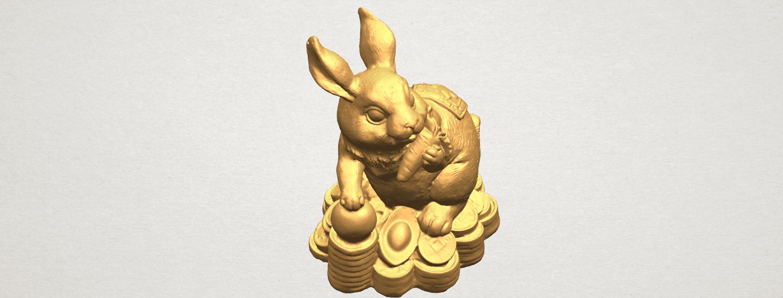 TDA0559 Rabbit 02 A06.png Télécharger fichier STL gratuit Lapin 02 • Design imprimable en 3D, GeorgesNikkei