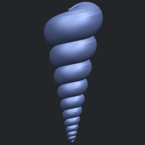 20_TDA0487_spiral_shellB07.png Download free STL file spiral shell • Object to 3D print, GeorgesNikkei