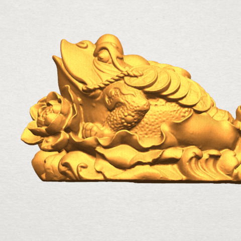 Download free 3D printer model The Golden Toad, GeorgesNikkei