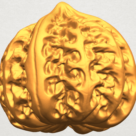 A10.png Download free STL file Walnut • 3D print object, GeorgesNikkei