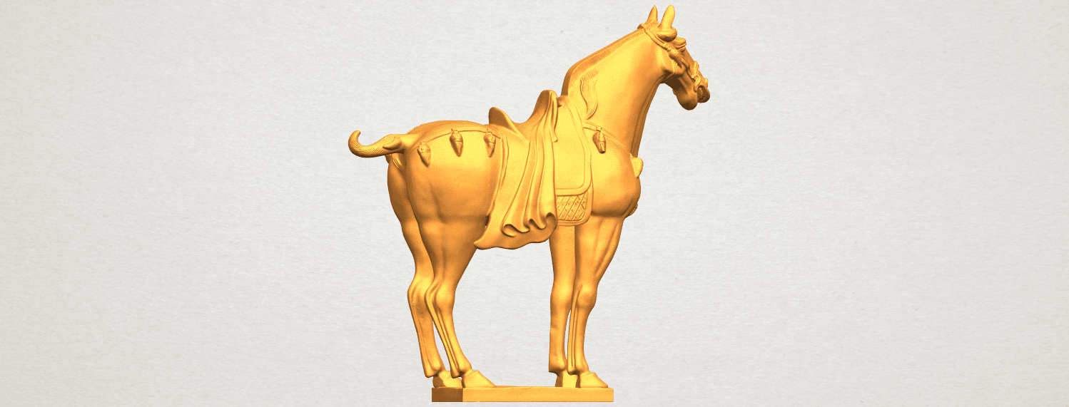 A06.png Download free STL file Horse 08 • Design to 3D print, GeorgesNikkei