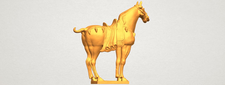 A06.png Télécharger fichier STL gratuit Cheval 08 • Plan à imprimer en 3D, GeorgesNikkei