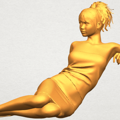 A02.png Download free STL file Naked Girl F05 • 3D printer object, GeorgesNikkei