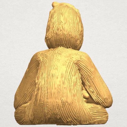 TDA0606 Chimpanzee A05.png Télécharger fichier STL gratuit Chimpanzé • Design imprimable en 3D, GeorgesNikkei