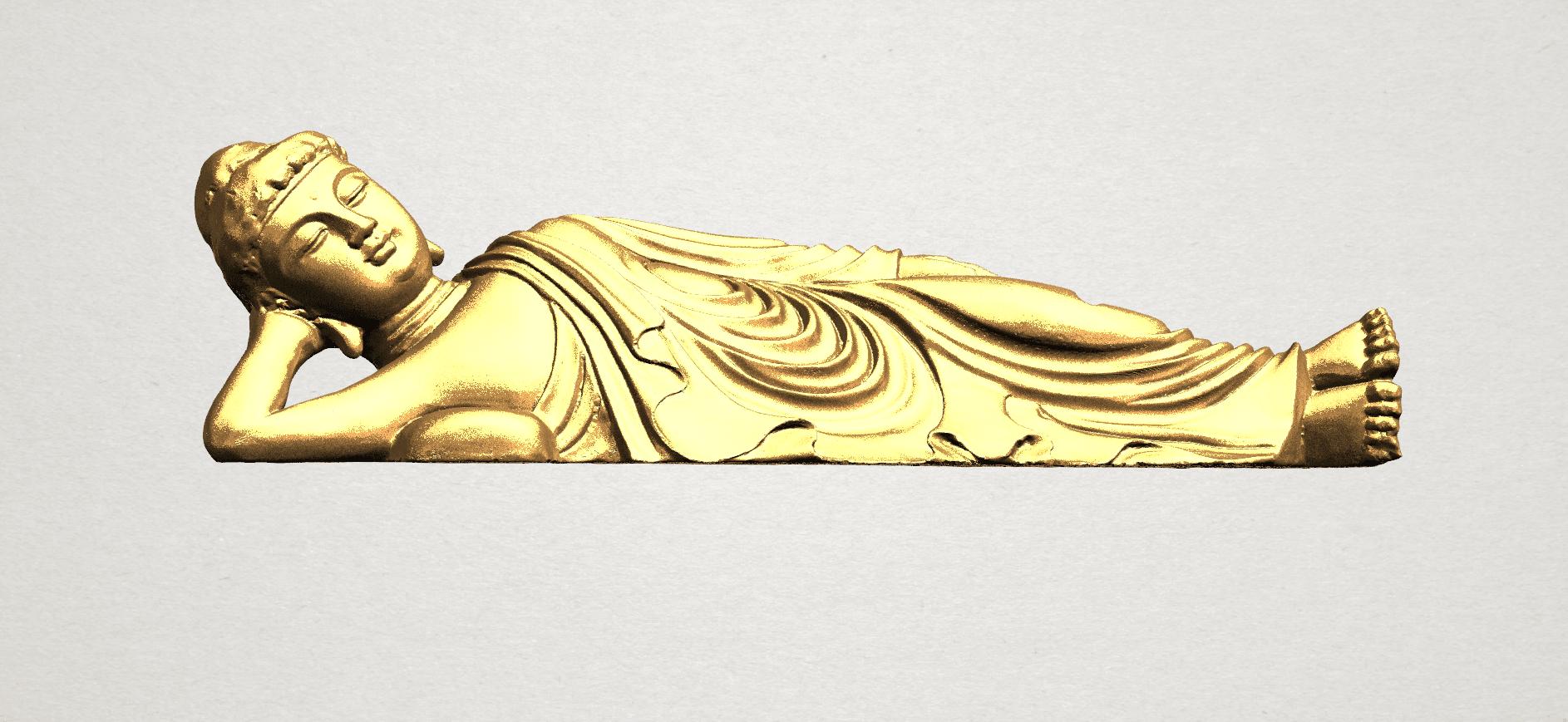 Sleeping Buddha (i) A01.png Download free STL file Sleeping Buddha 01 • 3D printable design, GeorgesNikkei