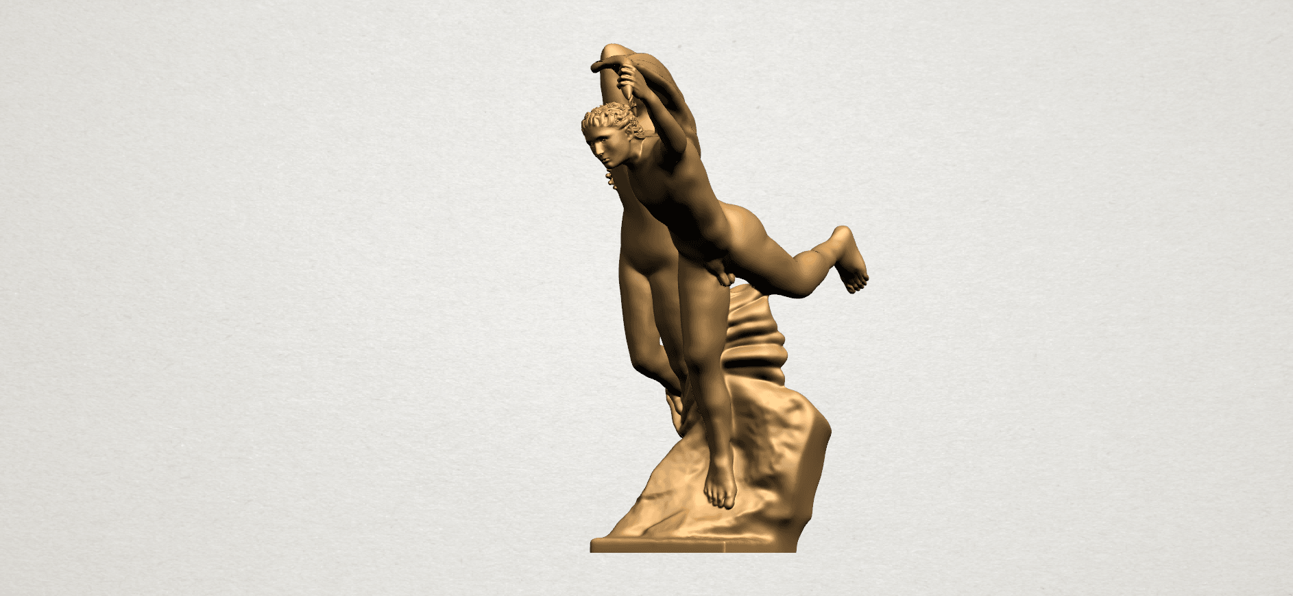 Cupid and Psyche - A12.png Download free STL file Cupid and Psyche • 3D printing template, GeorgesNikkei