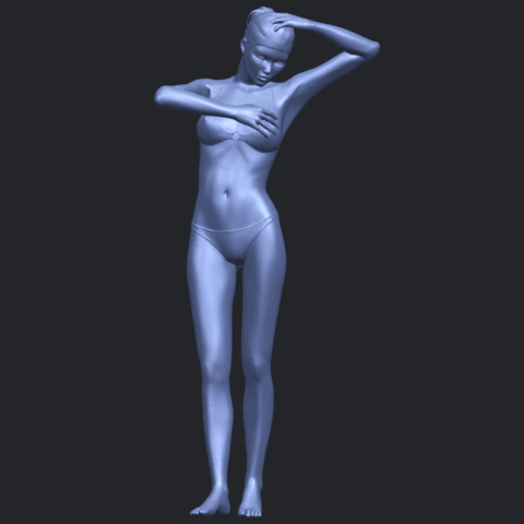 16_TDA0633_Naked_Girl_D03-B02.png Download free STL file Naked Girl D03 • 3D printing template, GeorgesNikkei