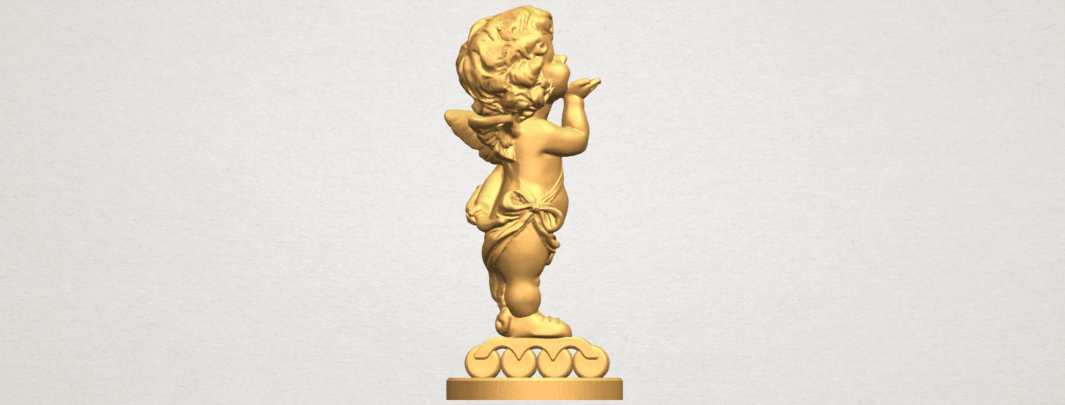 TDA0480 Angel Baby 03 A07.png Download free STL file Angel Baby 03 • 3D printing template, GeorgesNikkei