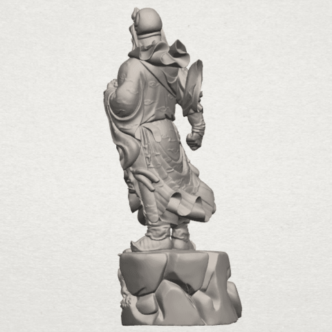 TDA0241 Guan Gong (ii) A05.png Download free STL file Guan Gong 02 • 3D printing template, GeorgesNikkei