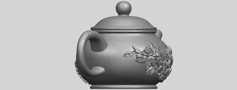 02_TDA0324_Tea_Pot_iiiA05.png Download free STL file Tea Pot 03 • 3D printing template, GeorgesNikkei