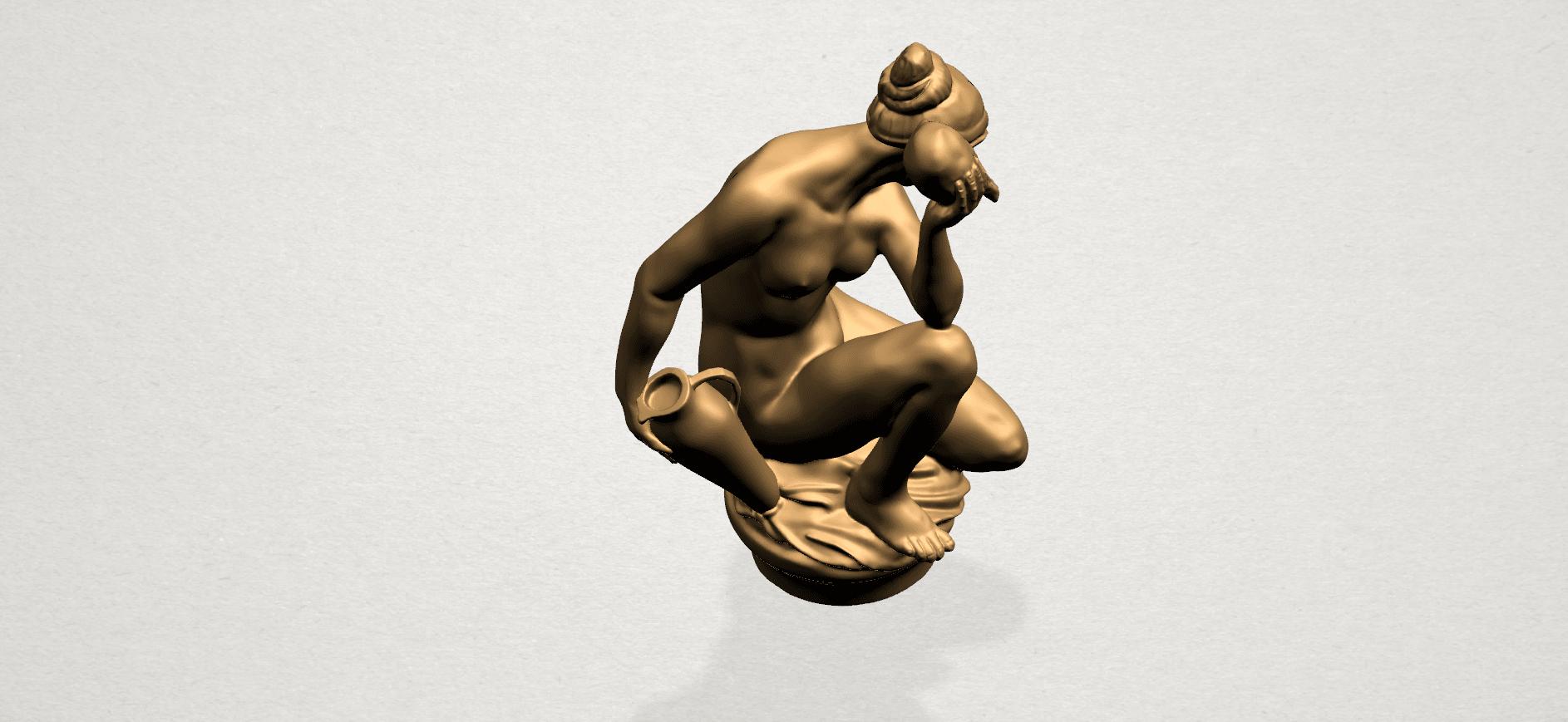 Naked Girl - With Pot - A09.png Télécharger fichier STL gratuit Fille Nue - Avec Pot • Modèle à imprimer en 3D, GeorgesNikkei