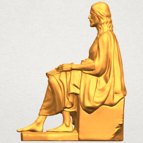A01.png Download free STL file Jesus 06 • 3D printer object, GeorgesNikkei