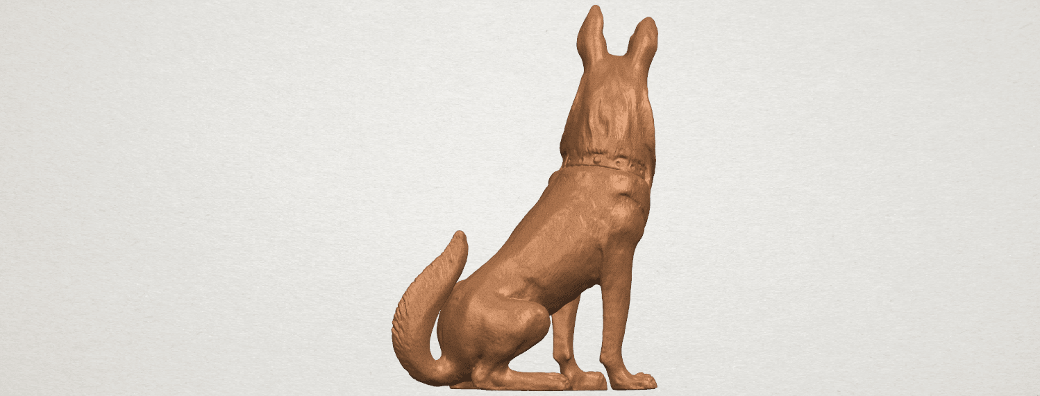 TDA0307 Dog - Wolfhound A06.png Download free STL file Dog - Wolfhound • 3D printer model, GeorgesNikkei