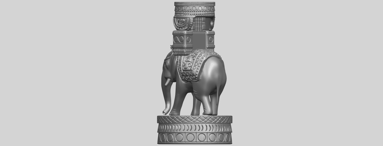 TDA0731_Elephant_08A05.png Download free STL file Elephant 08 • 3D printable template, GeorgesNikkei