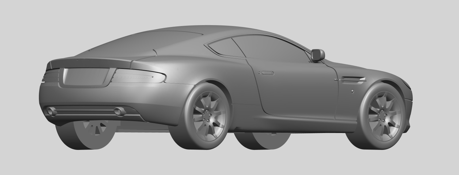 03_TDB006_1-50_ALLA05.png Download free STL file Aston Martin DB9 Coupe • 3D printer template, GeorgesNikkei