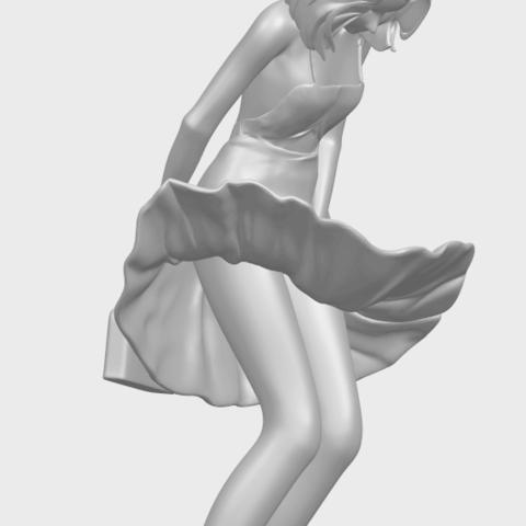 TDA0715_Beautiful_Girl_15A10.png Télécharger fichier STL gratuit Belle Fille 15 ans • Plan pour impression 3D, GeorgesNikkei
