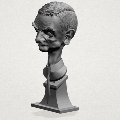 Sculpture of a man - A02.png Download free STL file Sculpture of a man 01 • 3D printable object, GeorgesNikkei