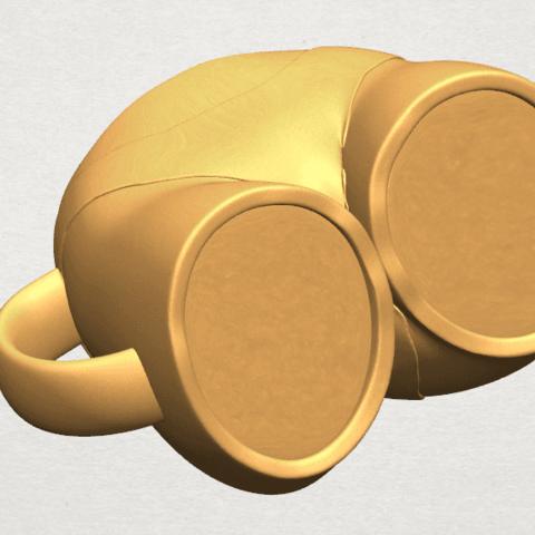 TDA0619 Bikini Cup A09.png Download free STL file Bikini Cup • 3D printer design, GeorgesNikkei