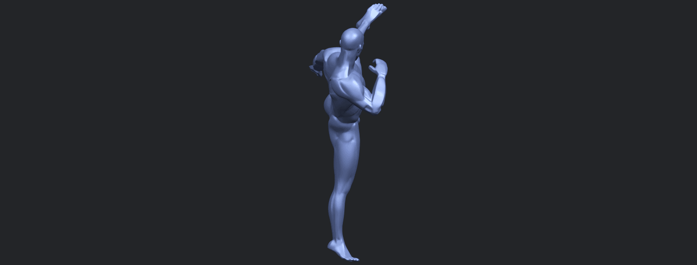 06_TDA0547_Man_KickingB09.png Télécharger fichier STL gratuit Man Kicking • Objet pour impression 3D, GeorgesNikkei
