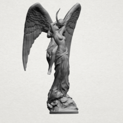 Angel and devil - A01.png Download free 3DS file Angel and devil • 3D print template, GeorgesNikkei