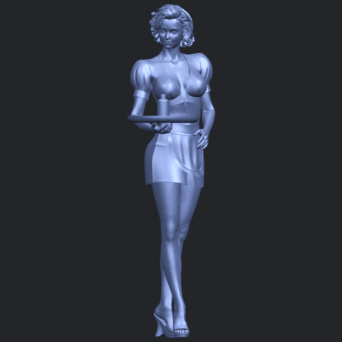 07_TDA0475_Beautiful_Girl_09_WaitressB01.png Download free STL file Beautiful Girl 09 Waitress • 3D printable object, GeorgesNikkei