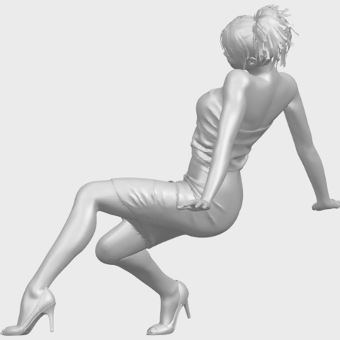 15_TDA0662_Naked_Girl_G10A04.png Download free STL file Naked Girl G10 • 3D printable template, GeorgesNikkei