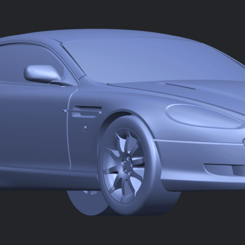 TDB006_1-50 ALLA08.png Download free STL file Aston Martin DB9 Coupe • 3D printer template, GeorgesNikkei