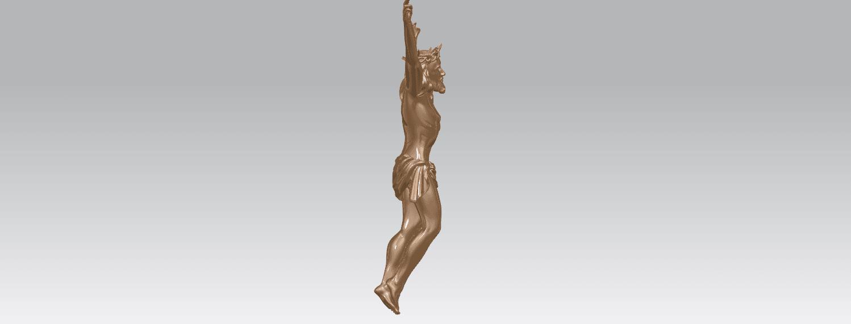 TDA0230 Jesus (ii) A05.png Download free STL file Jesus 02 • 3D printing template, GeorgesNikkei