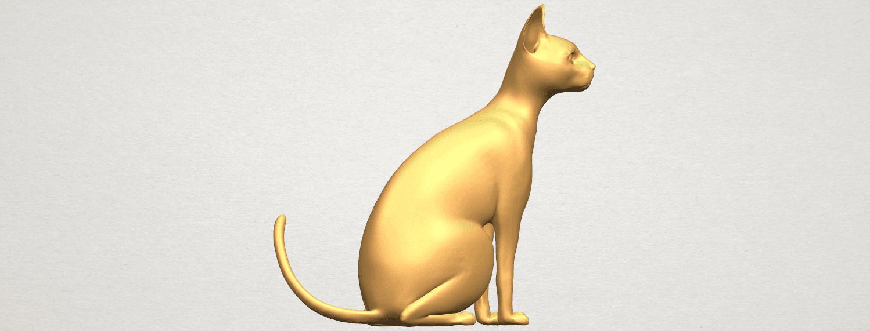 TDA0576 Cat 01 A06.png Télécharger fichier STL gratuit Chat 01 • Modèle pour imprimante 3D, GeorgesNikkei
