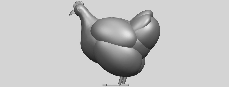 17_TDA0484_HenA04.png Télécharger fichier STL gratuit Poule • Design pour imprimante 3D, GeorgesNikkei