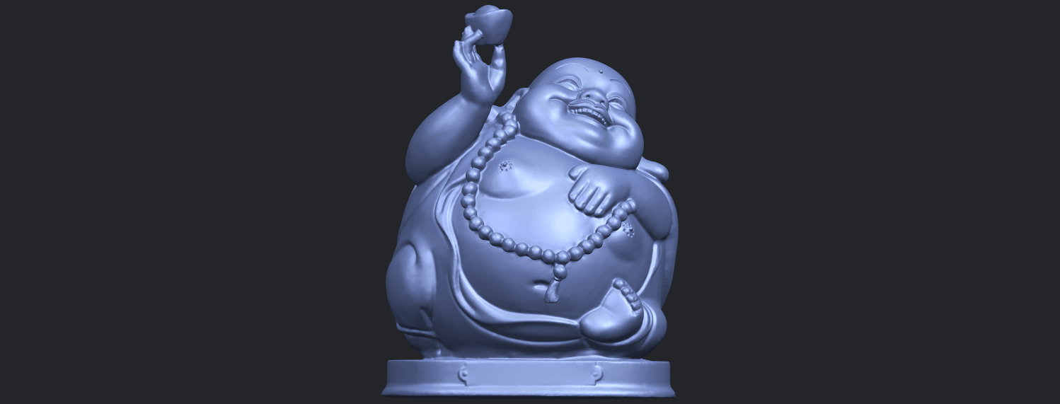 18_Metteyya_Buddha_07_-_88mmB01.png Download free 3DS file Metteyya Buddha 07 • 3D printer model, GeorgesNikkei