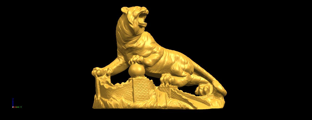 13.png Télécharger fichier STL gratuit Tigre de Sibérie • Objet imprimable en 3D, GeorgesNikkei