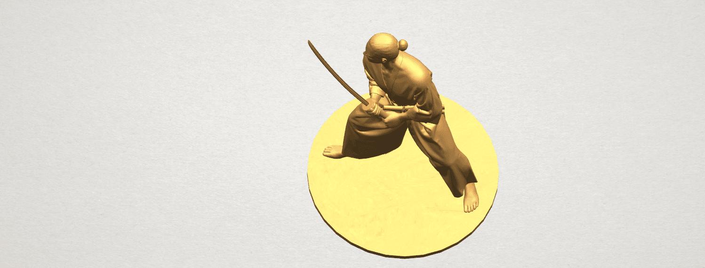 TDA0544 Japanese Warrior A08.png Download free STL file Japanese Warrior • 3D printer model, GeorgesNikkei