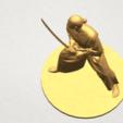 3D file Japanese Warrior, Miketon