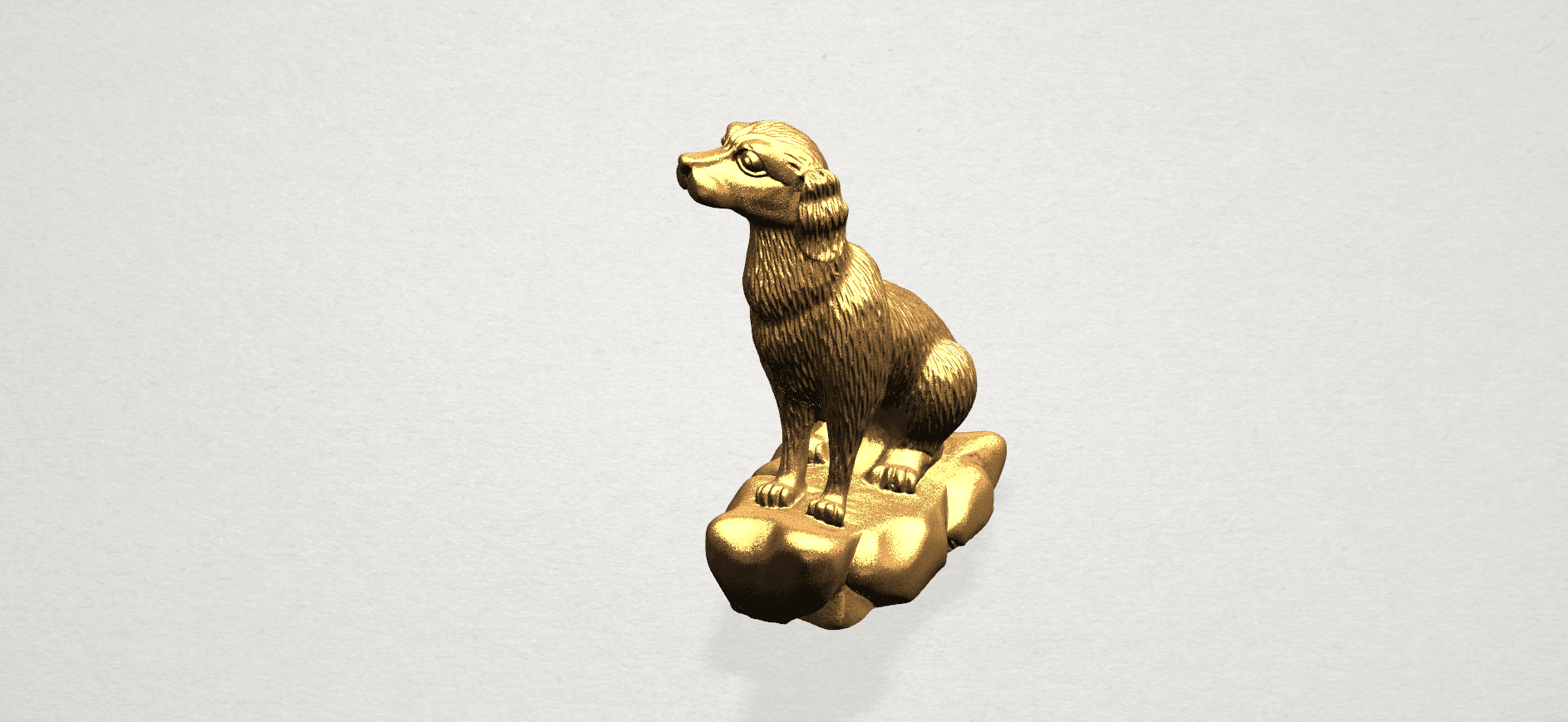 ZChinese Horoscope11-B05.png Download free STL file Chinese Horoscope 11 Dog • 3D print design, GeorgesNikkei