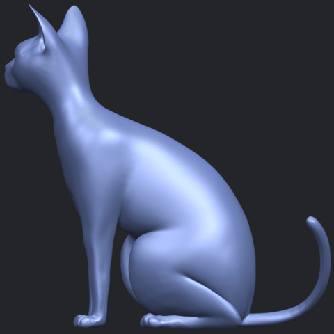 02_TDA0576_Cat_01B04.png Download free STL file Cat 01 • Design to 3D print, GeorgesNikkei