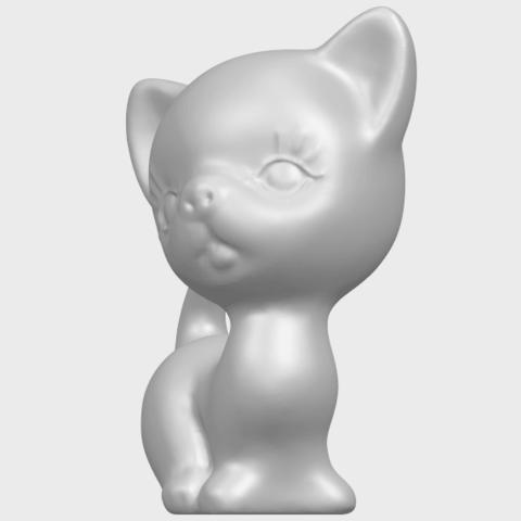 TDA0746_Cat_03A02.png Télécharger fichier STL gratuit Chat 03 • Modèle à imprimer en 3D, GeorgesNikkei