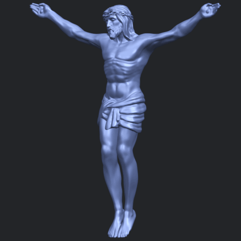 21_TDA0230_Jesus_iB02.png Download free STL file Jesus 01 - top • Object to 3D print, GeorgesNikkei