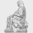 05_TDA0238_La_PietaA04.png Télécharger fichier STL gratuit La Pieta • Modèle pour impression 3D, GeorgesNikkei