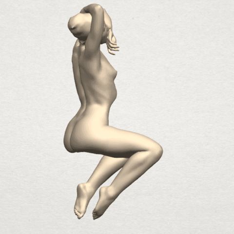 TDA0280 Naked Girl A07 05.png Download free STL file Naked Girl A07 • 3D printable template, GeorgesNikkei