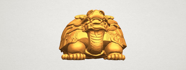 TDA0333 Dragon  Tortoise A06.png Télécharger fichier STL gratuit Tortue dragon • Objet imprimable en 3D, GeorgesNikkei