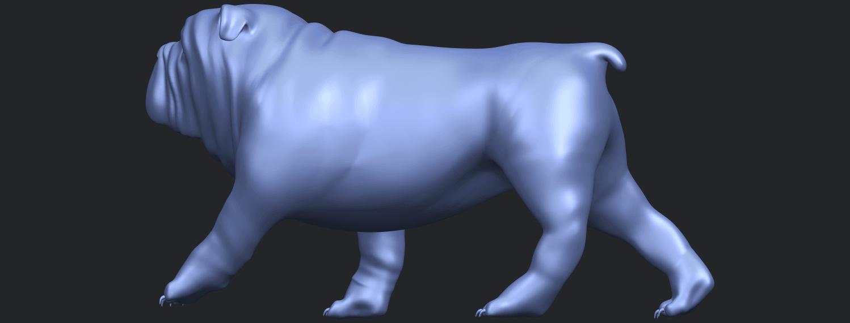 14_TDA0520_Bull_Dog_01B04.png Télécharger fichier STL gratuit Chien de taureau 01 • Plan pour impression 3D, GeorgesNikkei