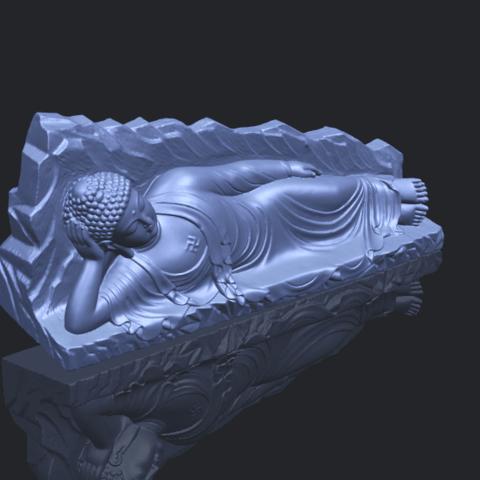 05_TDA0295_Sleeping_Buddha_iiiB00-1.png Télécharger fichier STL gratuit Bouddha Dormant 03 • Objet à imprimer en 3D, GeorgesNikkei