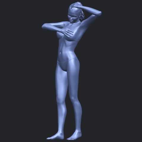16_TDA0633_Naked_Girl_D03-B03.png Download free STL file Naked Girl D03 • 3D printing template, GeorgesNikkei