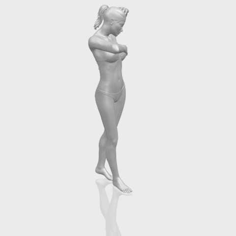 16_TDA0633_Naked_Girl_D03-A00-1.png Download free STL file Naked Girl D03 • 3D printing template, GeorgesNikkei