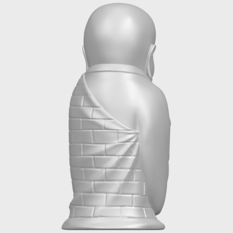 Little_Monk_80mmA07.png Download free STL file Little Monk 01 • 3D printable design, GeorgesNikkei